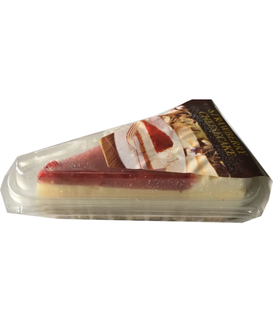 PRE PACKED STRAWBERRY CHEESE CAKE 12X PORTION