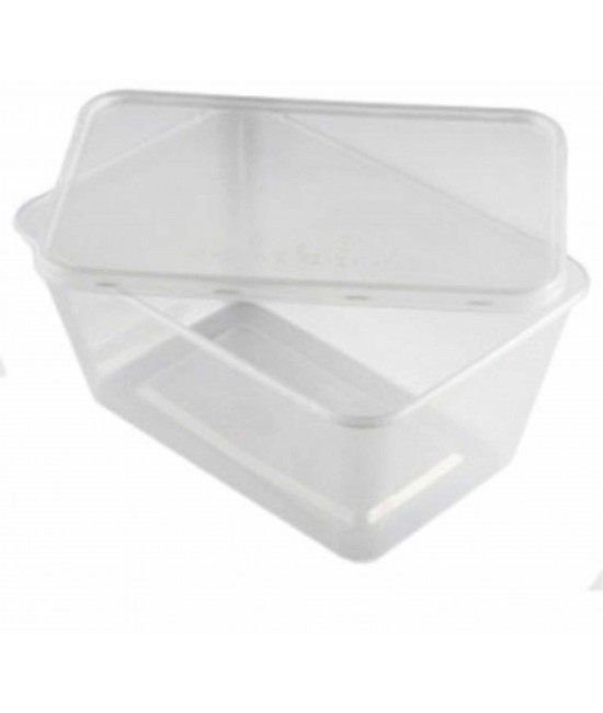 A 500 CONTAINER WHITH LIDS (250) offer