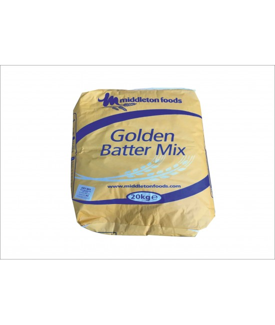 MIDDELTON GOLD 20 KG BATTER MIX