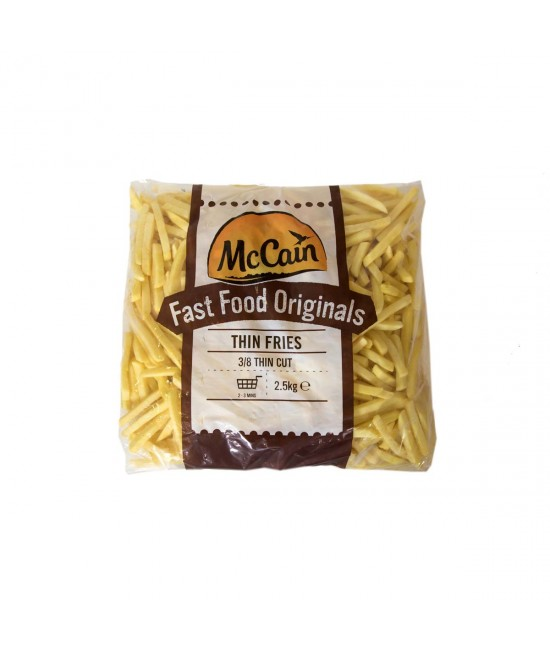 MCCAINE 3/8 CHIPS (4X2.5KG)