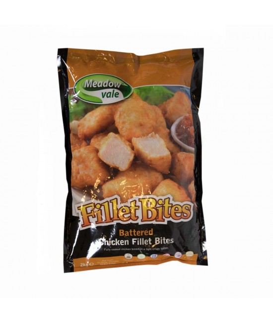 BATTERED CHICKEN BITES 2KG