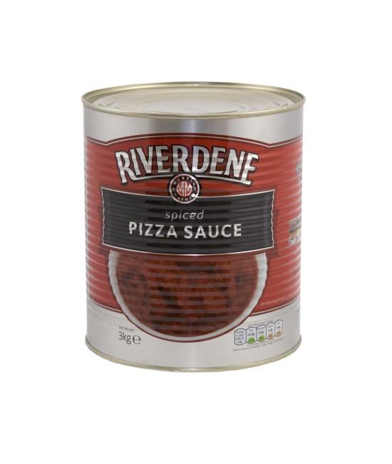 RIVERDENE SPICED PIZZA SAUCE (6XA10)